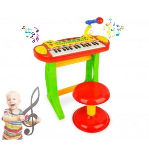 105914 Piano Rock tastiera elettronica giocattolo 31 tasti altezza 20 cm