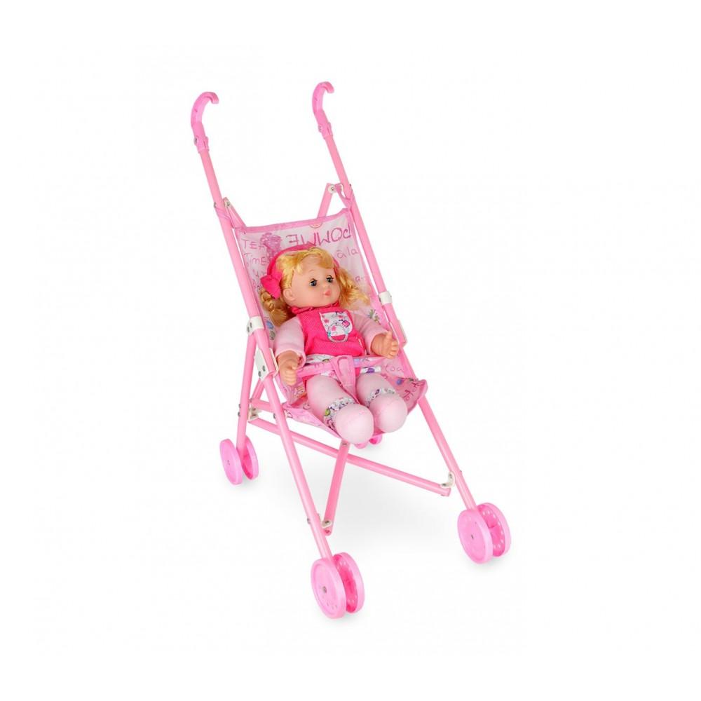 Babè amore 011361 passeggino TRY ME bambola parlante 33 cm