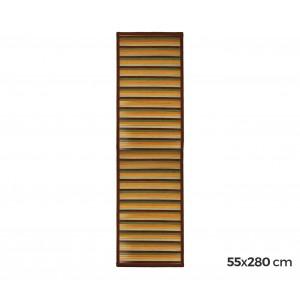 Image of 159231 Tappeto in bamboo naturale multicolor 55 x 280 cm  antiscivolo 6910092782545