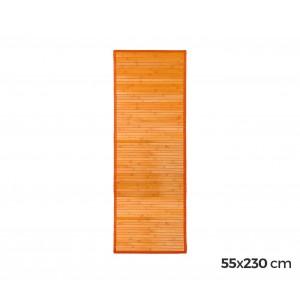 0381 Tappeto in bamboo naturale multicolor  55 x 230 cm  antiscivolo