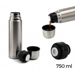 Image of 510410 Thermos in acciaio inox welkhome chiusura con tappo a scatto750ml 6921045785230