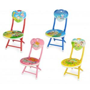 """5716 Sediolina per bambini """"apri e chiudi"""" colori e fantasie assortite"""