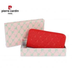 Image of 8822A Portafoglio da donna PIERRE CARDIN chiusura a cerniera  colori assortiti 6945231423300