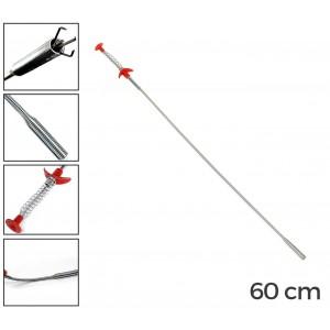 1126 Pinza prenditutto a molla in acciaio flessibile 60cm