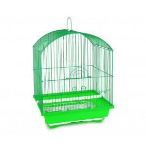 100Gabbia in stile classico per uccelli di piccole dimensioni mangiatoie incluse