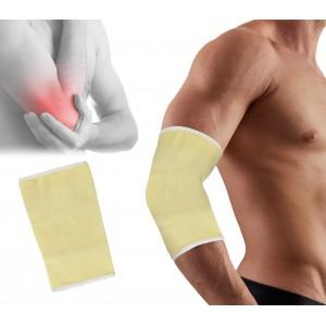 068089 Supporto a fascia per gomito in cotone elastico taglia unica
