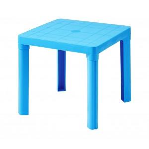 0448 Tavolo per bambini in plastica 50 x 50cm smontabile in plastica rigida