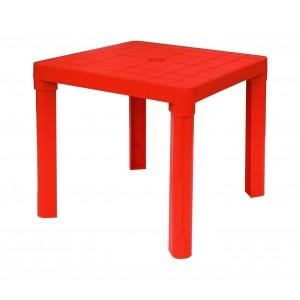Image of 240335 Tavolo per bambini in plastica 50 x 50 cm smontabile in plastica rigida 6901243333020