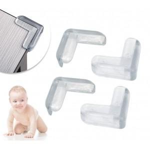 2869 Paraspigoli in materiale plastico trasparente con biadesivo incluso
