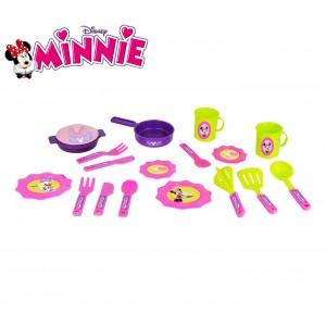 Image of 084144 Set 18 accessori da cucina di Minnie disney posate piattini e pentole 6908777896588