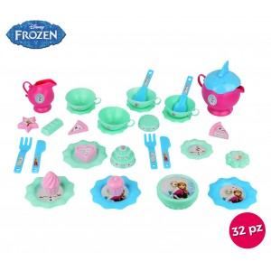 Image of 087091 Servizio da tè completo di 11 dolcetti e 32 accessori Disney Frozen 6980332896547