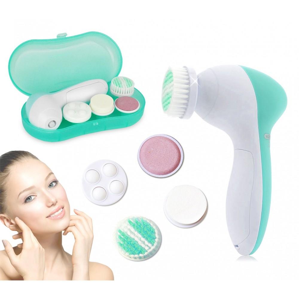 76/3217 Massaggiatore SKIN BEAUTY testine intercambiabili per pulizia del viso