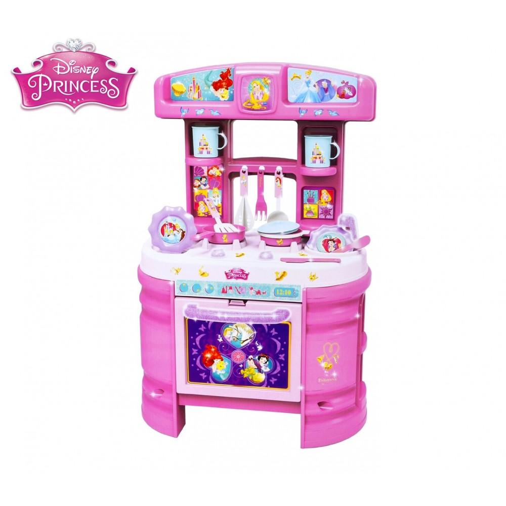 071014 Cucina Princess Disney accessoriata playset con 17 utensili Disney