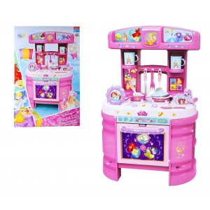 Cucina Princess Disney accessoriata playset con 17 utensili Disney 7101