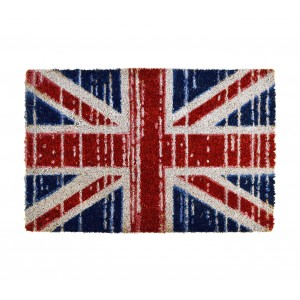 Image of 239803 Zerbino in fibra di cocco 40 x 60 CM mod. FLAGS bandiere antiscivolo 6907855003986