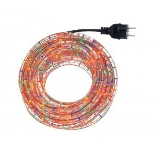 291241 Tubo 360 lampadine multicolor superluminose da esterno 10 mt