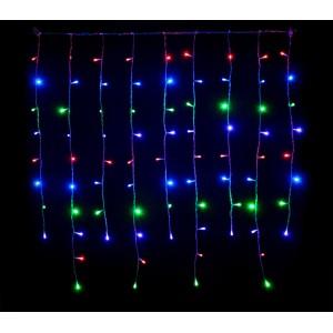 031434 Tenda luminosa da 416 luci multicolor con giochi di luci da esterno