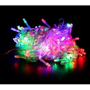 498831 Minilucciole multicolor 100 luci led per uso interno cavo trasparente