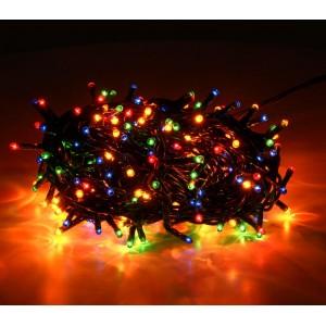 013591 Minilucciole 300 luci multicolor per uso interno 8 giochi di luci