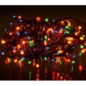 013546 Minilucciole 240 luci multicolor per uso interno 8 giochi di luci