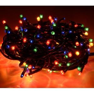 013492 Minilucciole 180 luci multicolor per uso interno 8 giochi di luci