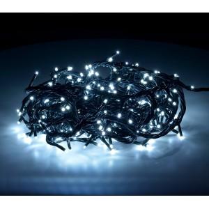 498923Minilucciole led 180 luci bianco freddo per uso interno 8 giochi di luci
