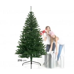 60005 Albero di Natale in fibra ottica 1400punte luminose 270cm