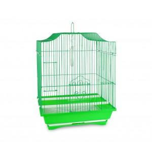 103 Gabbia per uccelli di piccole dimensioni 51x32x27cm con due mangiatoie