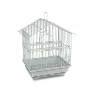 101 Gabbia per uccelli di piccole dimensioni 51x32x27cm con due mangiatoie
