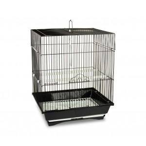 102 Gabbia per uccelli di piccole dimensioni 51x32x27cm con due mangiatoie