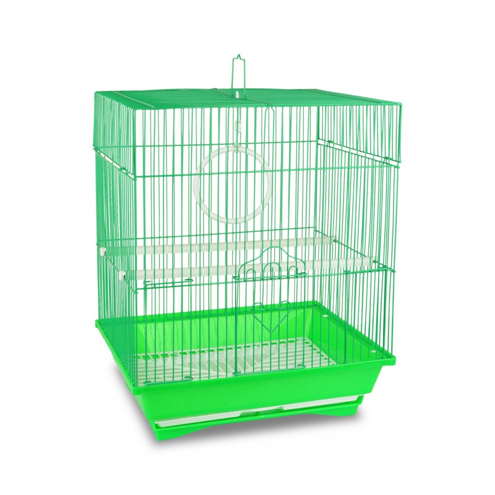 302Gabbia per uccelli di piccole dimensioni KANDY 62x38x27 cm con due mangiatoie