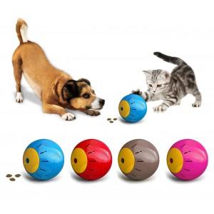 10195Gioco intelligente per animali SNACK BALL con apertura per croccantini