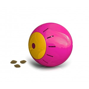 Image of 10195 Gioco intelligente per animali SNACK BALL con apertura per croccantini 6990012663000