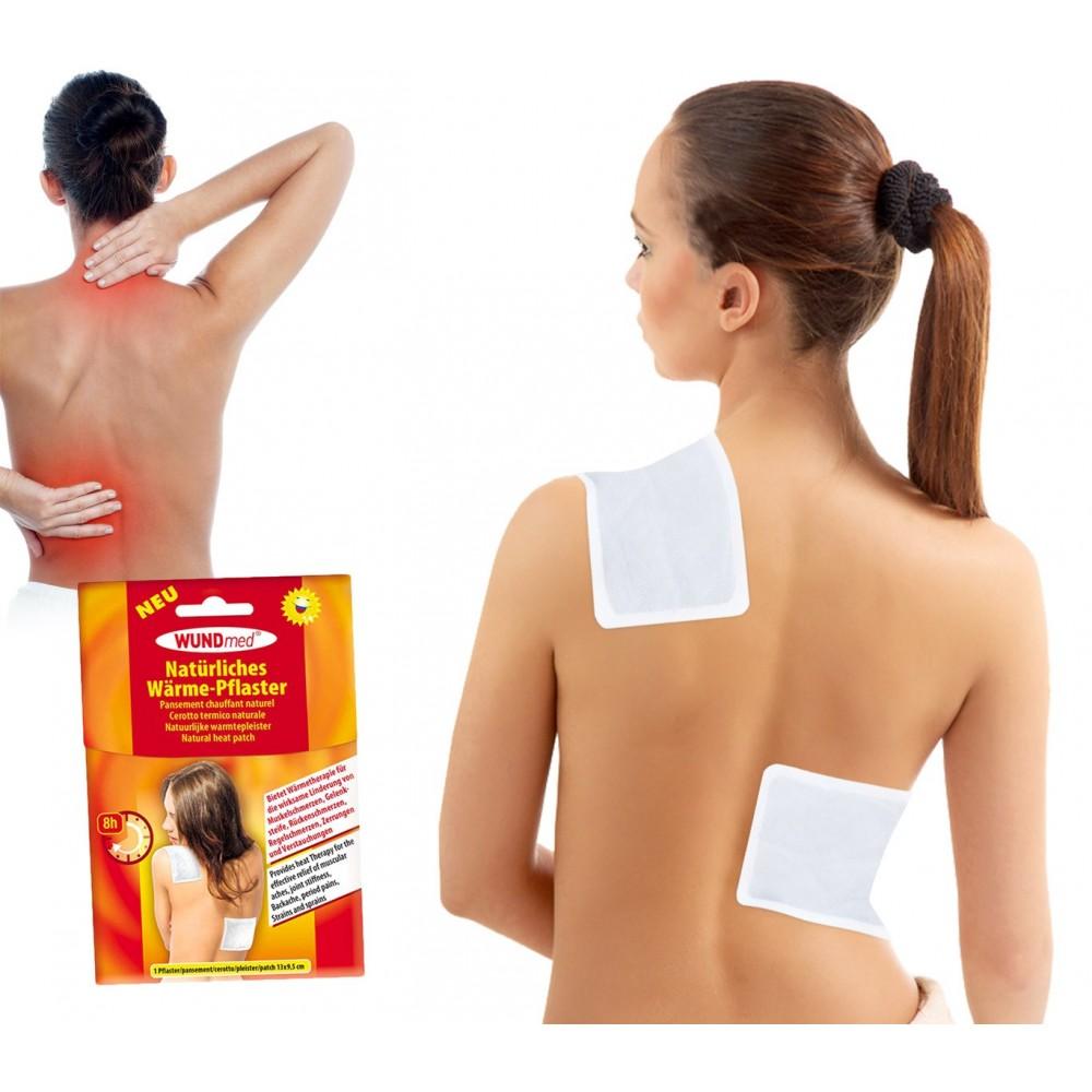 621805 Pack 3 Cerotti termico sollievo dolori muscolari ed articolari 13x9.5 cm