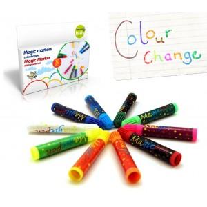 Image of 48866 Set di 30 pennarelli MAGICI che cambiano colore MAGIC MARKERS 8017634190290