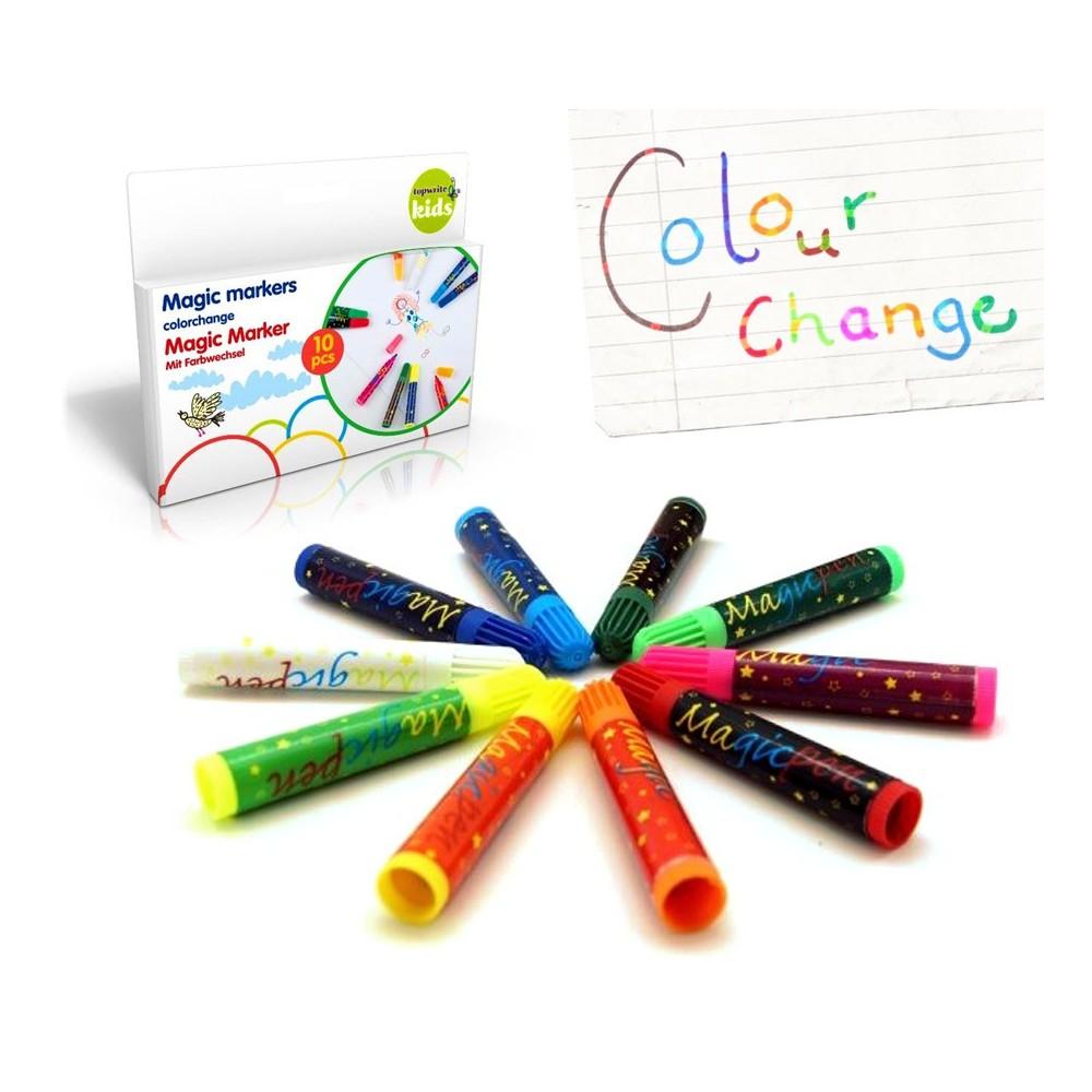 48866 Set di 30 pennarelli MAGICI che cambiano colore MAGIC MARKERS