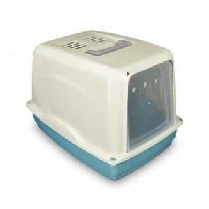 Image of 69462 Toilette per gatti COMFORT 54x39x39 cm filtro ai carboni attivi maniglia 6994147300212