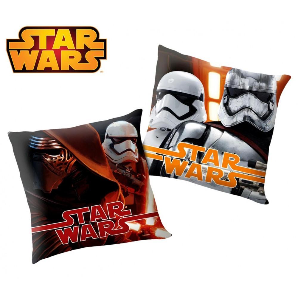 SWE7002 Morbido cuscino STAR WARS elemento decorativo 40x40 cm doppia immagine