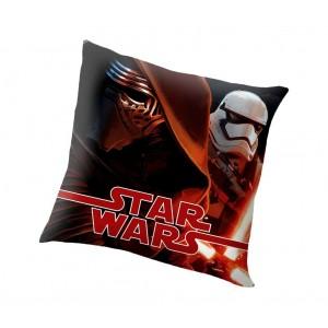 7002 Morbido cuscino STAR WARS elemento decorativo 40x40cm doppia immagine