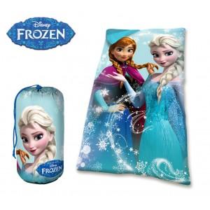 16574 Sacco a pelo coperta invernale da bambini DISNEY FROZEN 140x70