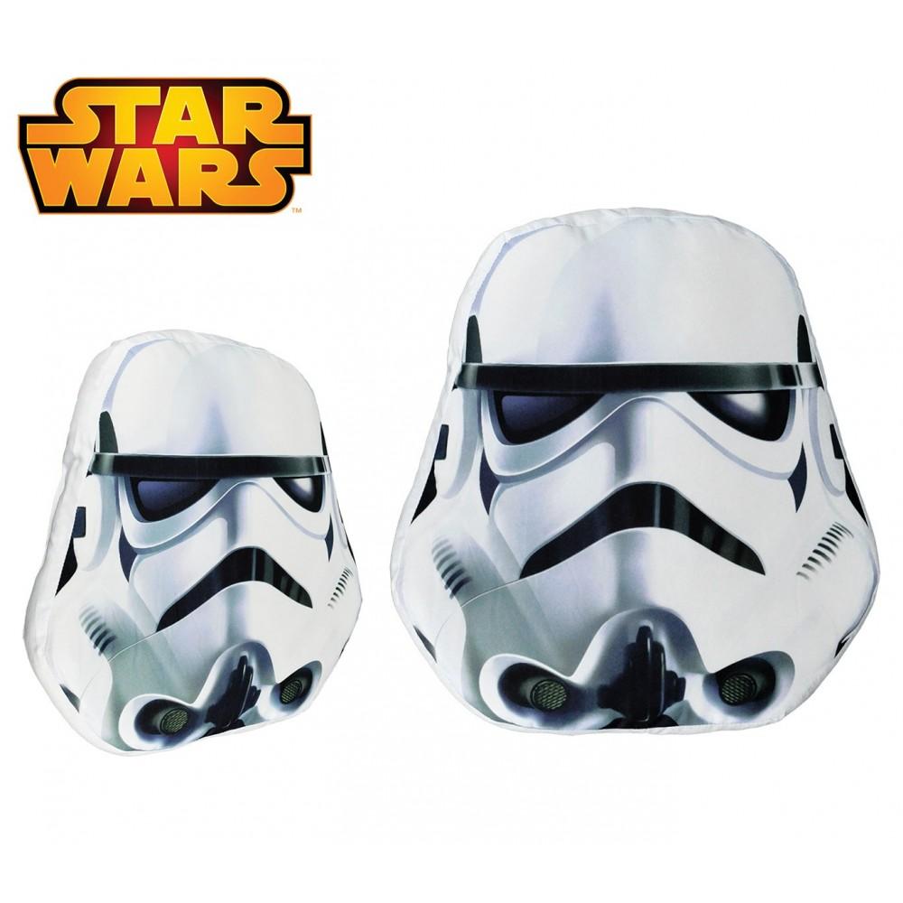 SW16529 Soffice cuscino 3D STAR WARS da collezione Storm Trooper 38x45x5 cm