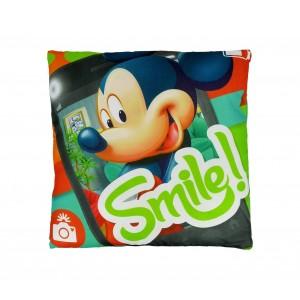 WD16467 Cuscino morbido 40x40cm Mickey Mouse GEEK BEATS allegro e decorativo