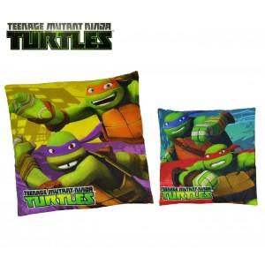 TN16005 Morbido e allegro cuscino quadrato 4x40cm TEENAGE Ninja Turtles