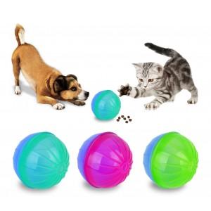 10196 Gioco intelligente per animali BALLY con apertura per rilascio croccantini