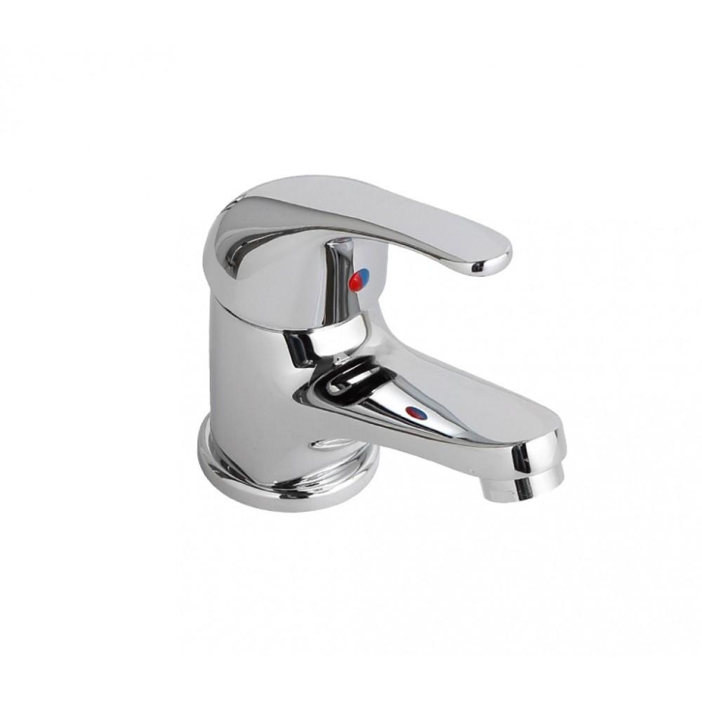 Miscelatore rubinetto lavabo sfera Cromo