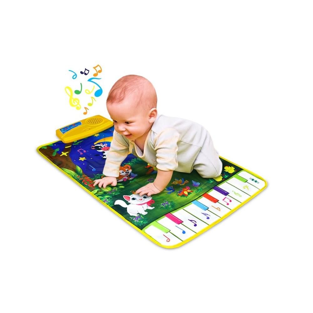 121774 Tappeto gioco interattivo IL BOSCO MAGICO melodie e versi degli animali