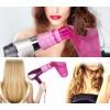 2528 Set beccuccio diffusore capelli mossi + spazzola lisciante elettrica