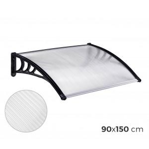 076214 Pensilina in policarbonato da esterno 90 x 150 cm modulabile tettoia