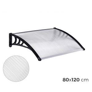 809904 Pensilina policarbonato da esterno 80 x 120 cm modulabile tettoia