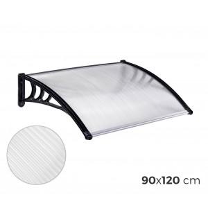 003452 Pensilina in policarbonato da esterno 90 x 120 cm modulabile tettoia
